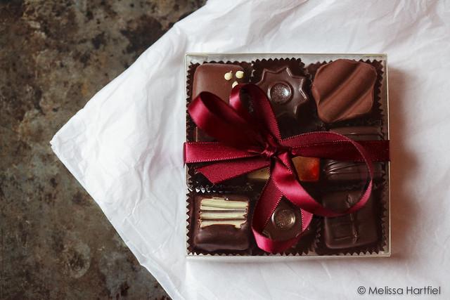 cocoa nymph holiday truffles
