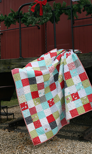 Cherry Christmas Patchwork