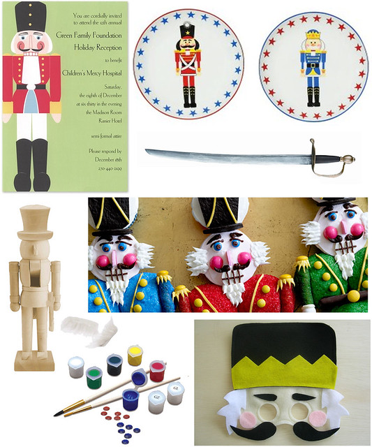 A Nutcracker Party for Boys