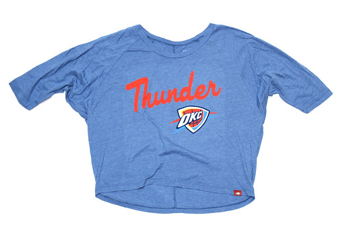 OKC THUNDER ICING SHIRT BY SPORTIQE
