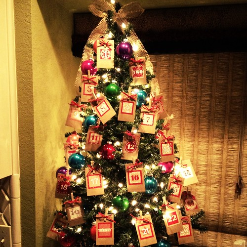 Peanut Butter And Poptarts Advent Calendar Christmas Tree