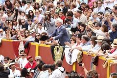 Brindis a Vargas Llosa en Acho 2012