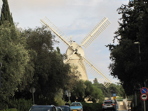 The windmill at Mishkenot Sha'ananaim