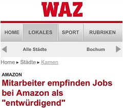 Neues WAZ/m.derwesten.de-Mobilportal: Ressort-Navigation