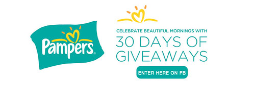 PAMPERS 30 DAYS OF GIVEAWAYS