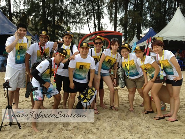 Rip Curl Surfing group pic