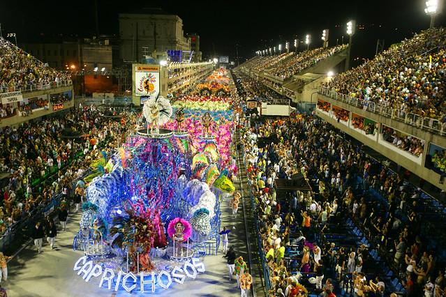 The Sambodrome - Rio Carnival 2006