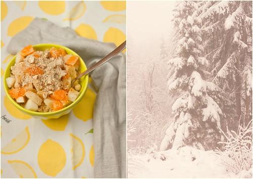 zimski zajtrk