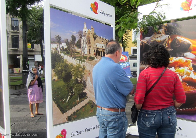 Photography Exhibit in the Plaza de Liberacion