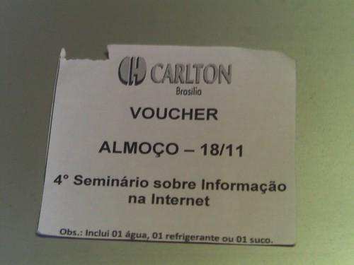 Brasilia | Hotel Carlton | Voucher