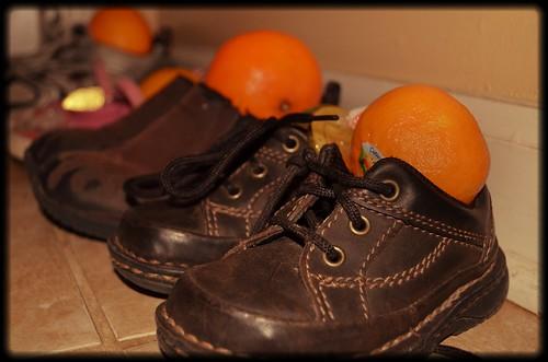 Shoes for St Nicholas