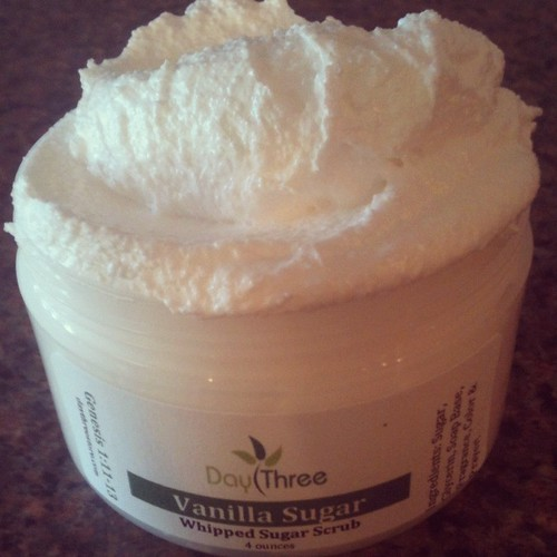 whipped cleansing scrub