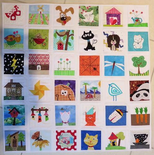 "2nd Bitty Block ""I Spy"" quilt - DONE"