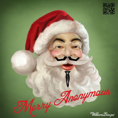 MERRY ANONYMOUS by Colonel Flick/WilliamBanzai7