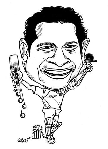 Sachin Tendulkar Cartoon