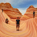 Small photo of The Wave, Coyote Buttes, Arizona