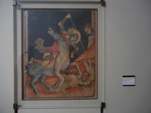 DSCN3268 _ San Giorgio libera la  principassa, c 1330-35, Vitale degli Equi detto Vitale da Bologna,  Pinacoteca Nazionale, Bologna