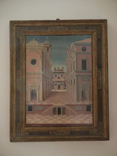 DSCN3810 _ Due Vedute di città, Girolamo Marchesi detto Girolamo da Cotignola (?)