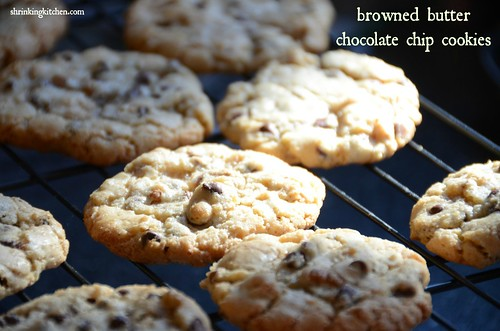 browned butter chocolate chip cookie