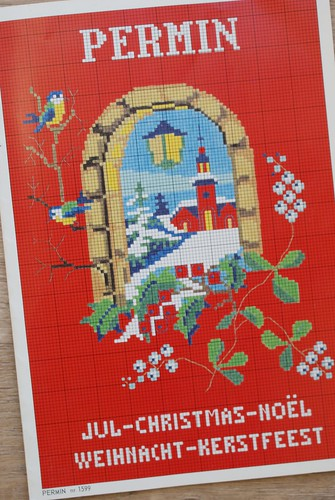 cross-stitch for Christmas