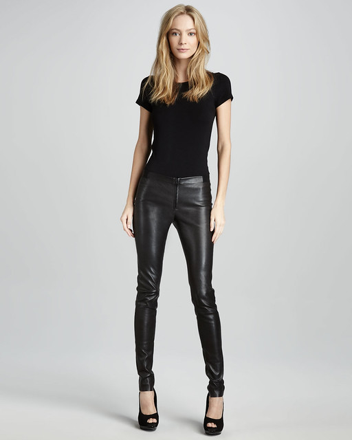Leather Leggings