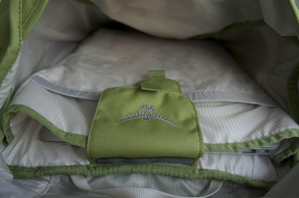Osprey Flap Jill Pack   Inner compartment