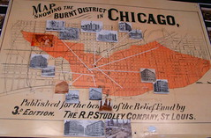 Map Of The 1871 Great Chicago Fire October 8 1871 Terry Spirek