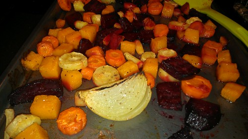 Roasted veggies by christopher575