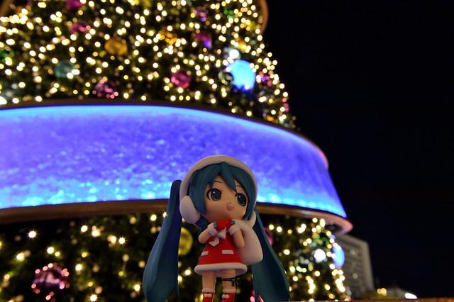 ねんどろいど サンタミクさんとクリスマスツリー