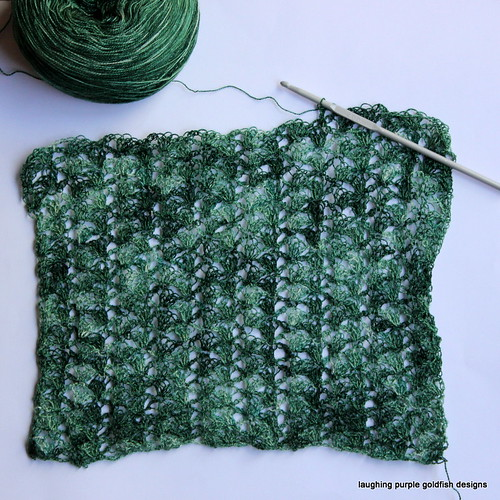 Laceweight Ziggy Scarf