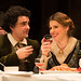 Rolando Villazón as Rodolfo and Maija Kovalevska as Mimì in La bohème © ROH / Bill Cooper 2012