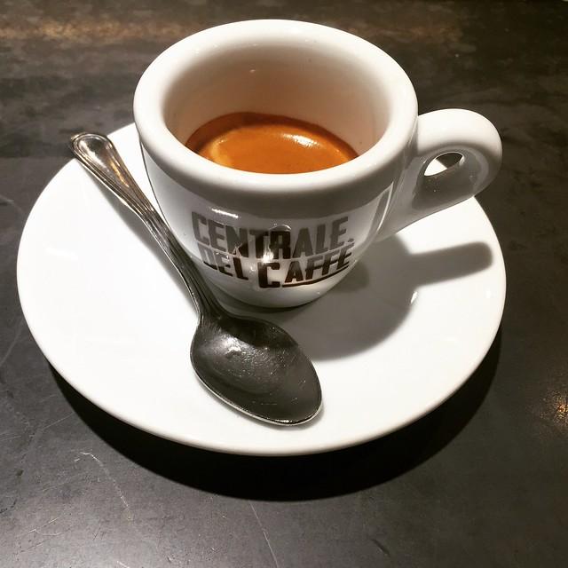 Espreso at Centrale del Caffe