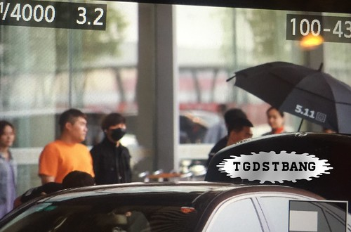 Big Bang - Beijing Airport - 05jun2015 - Dae Sung - TGDSTbang - 01