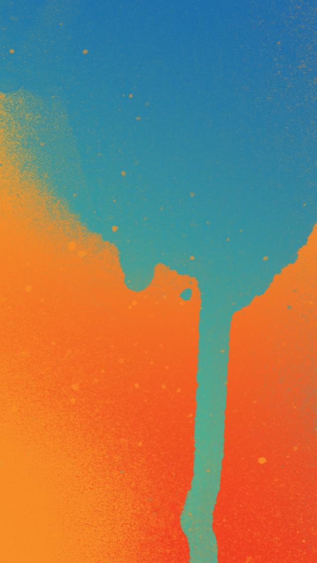 Paint Splatter ITunes Gift Card Inspired V2 IPhone Wallpaper