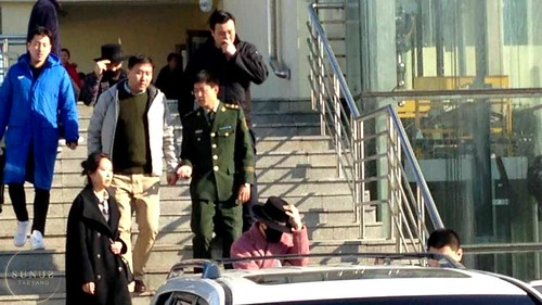 Big Bang - Harbin Airport - 21mar2015 - Tae Yang - _SUNUS_ - 01