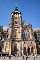 Prague Castle: St. Vitus Cathedral