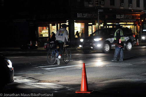 Biking the blackout - NYC-11