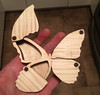Laser cut butterfly box