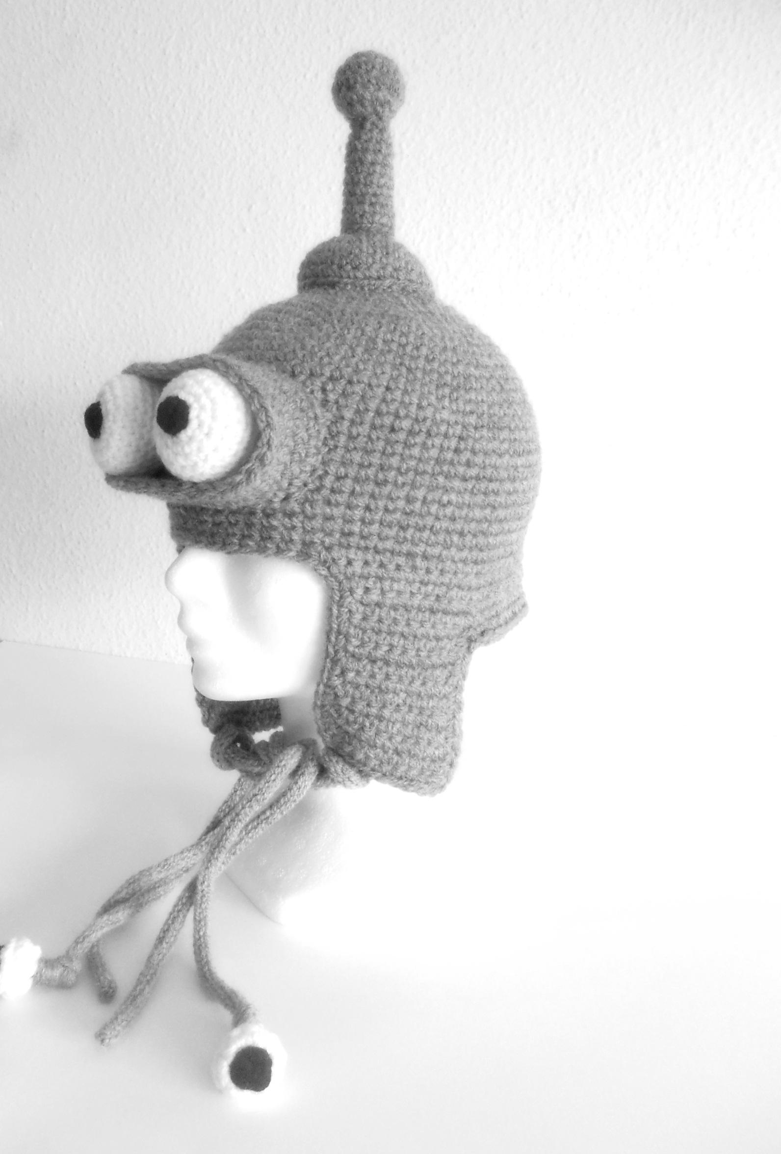 Gorro Bender, el gorro más divertido! — Pipocass handmade
