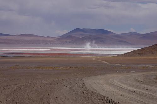 bolivia altiplano lagunacolorada desiertodesiloli redlagoon potosidept