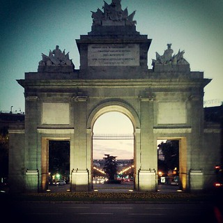 Εικόνα από Puerta de Toledo. square squareformat earlybird iphoneography instagramapp uploaded:by=instagram foursquare:venue=4adcda37f964a520263c21e3