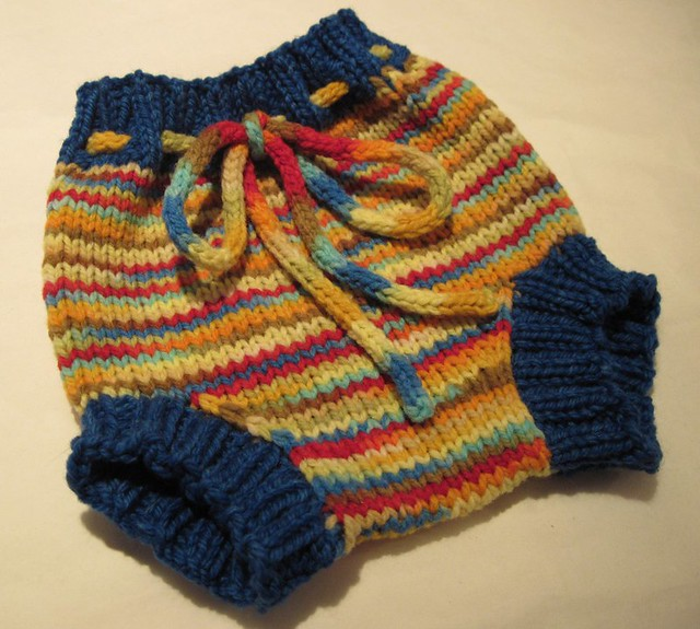 Handknit Wool Soaker - Small