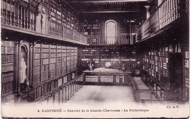 bibliotheque_couvent_grande_chartreuse