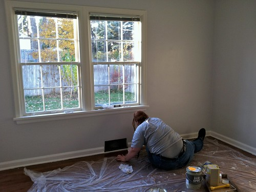 Painting bedrooms