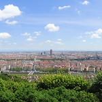 View from Fourvière, Lyon