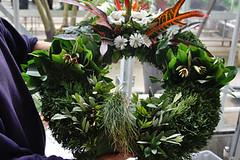 plant(0.0), centrepiece(0.0), decor(1.0), flower arranging(1.0), flower(1.0), floral design(1.0), flower bouquet(1.0), floristry(1.0), wreath(1.0),
