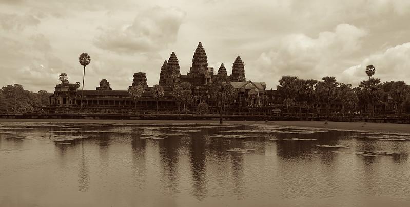 Angkor Wat - Antiqued