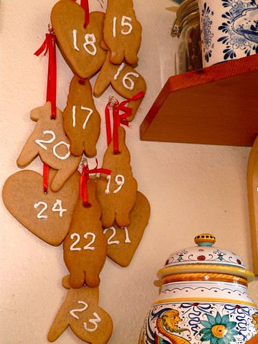 Norwegian Pepperkaker Advent Calendar