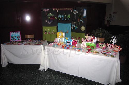 ♥♥♥ A minha banquinha na Expo Artis' Club 2012, antes da abertura... Até já!! by sweetfelt \ ideias em feltro