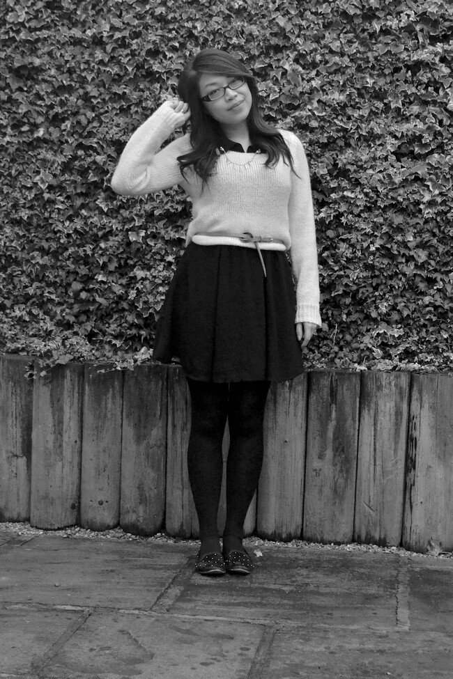 daisybutter - UK Style and Fashion Blog: what i wore, AW12, H&M, fashion blogger, street style